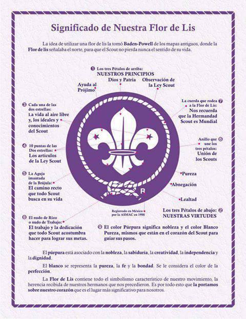 Significado De La Flor De Lis El Blog Scout Siempre