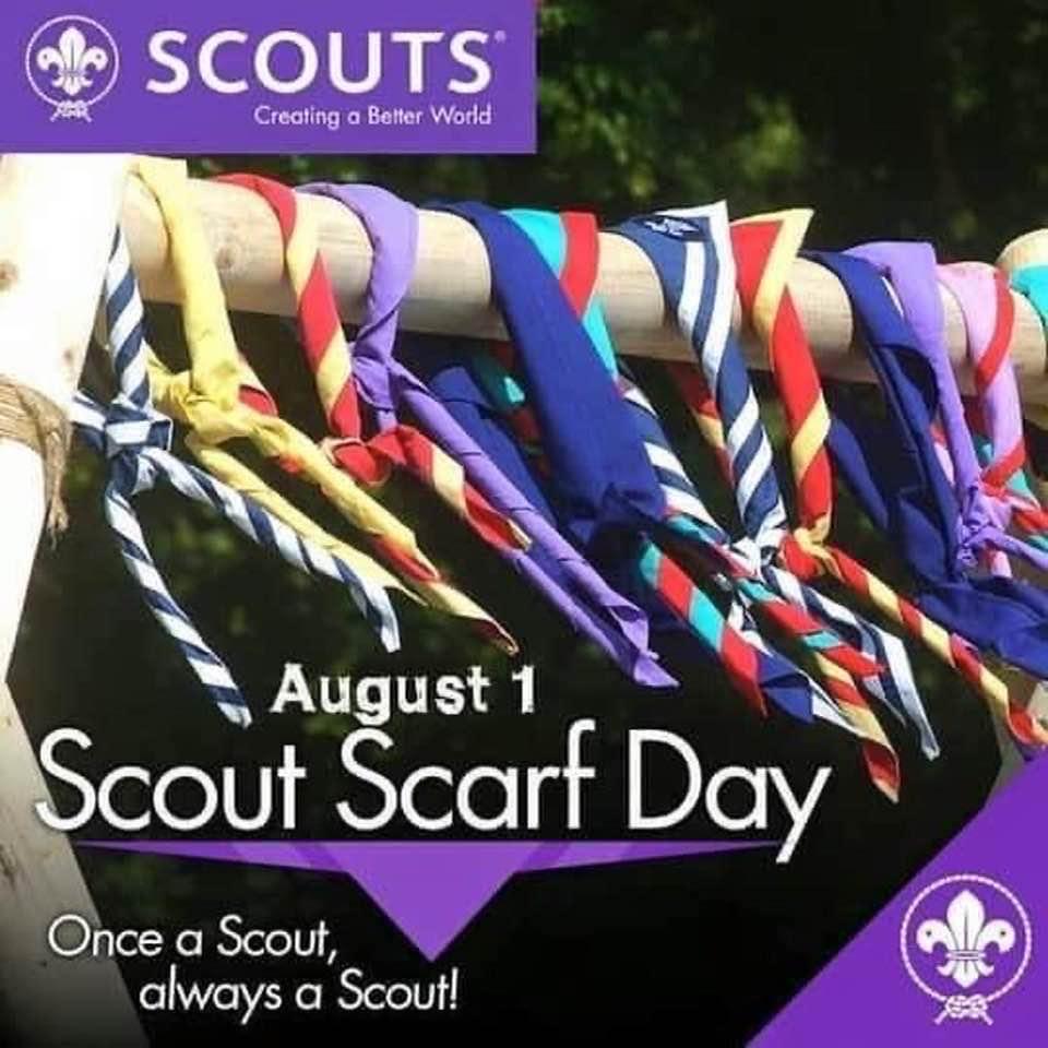 Dia 1 de Agosto – Feliz día mundial de losscout